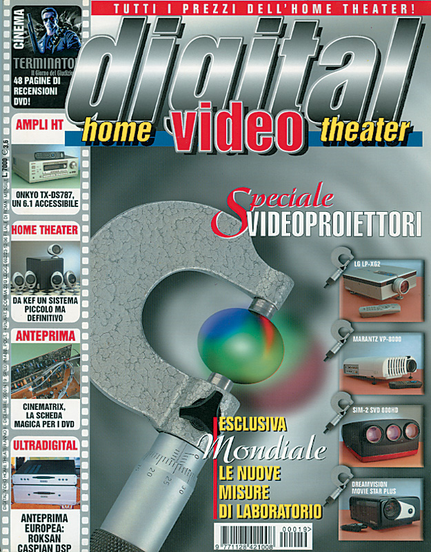 Copertina Digital Video 19