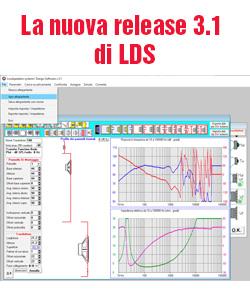 La nuova release 3.1 di LDS