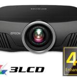 Nuovi proiettori Epson compatibili 4K HDR