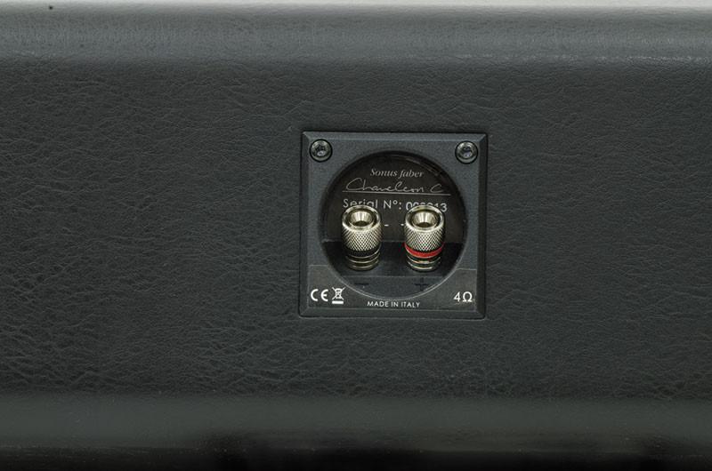 I connettori di ingresso sono due, metallici, dalla media versatilità, inseriti in una piccola vaschetta.