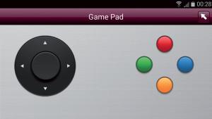 L'app LG Remote può trasformare lo smartphone perfino in un gamepad,  utile per i giochi nella Smart TV.