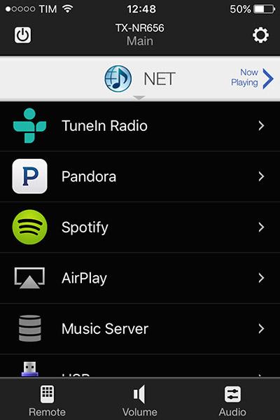 L'app nella versione sviluppata per iOS è identica a quella per smartphone Android.