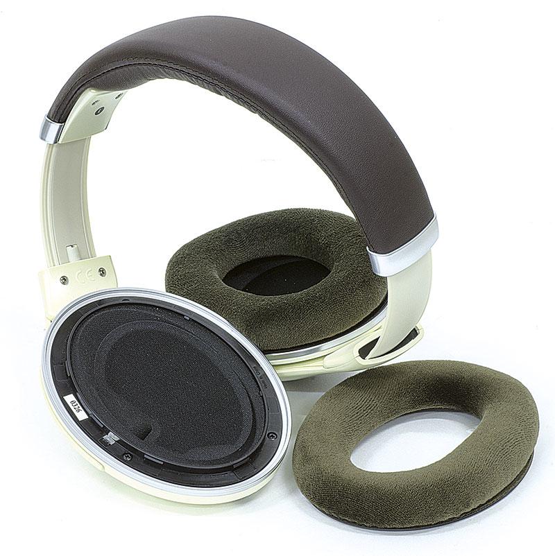 Il morbido cuscinetto delle Sennheiser è sostituibile all occorrenza. L HD  599 ... 4a4e99ef63e4
