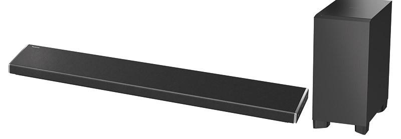 Oltre all'uso del prodotto singolo, il sistema SC-ALL permette di realizzare un facile set multi-room, aggiungendo quanti diffusori vogliamo nelle diverse stanze della casa. Integrando nel network locale la soundbar a 3.1 canali SC-ALL70T possiamo realizzare un intero impianto HT completamente senza cavi di segnale.