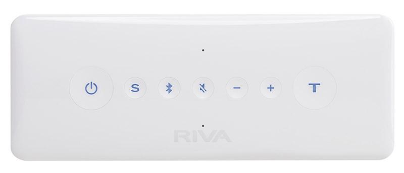 I sette tasti a sfioramento con i quali possiamo gestire tutte le funzioni della macchina. L'attivazione del collegamento Bluetooth è veloce e precisa sia per il pairing iniziale che per i collegamenti successivi.