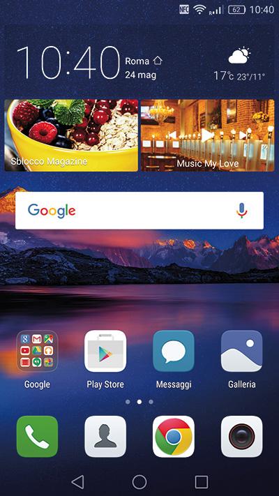 Il P9 è dotato dell'interfaccia utente Emotion UI 4.1, con sistema operativo Android 6.0 Marshmallow.