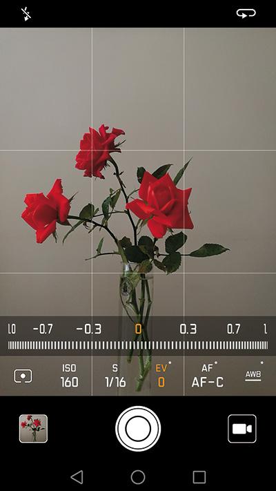 """Le possibilità offerte dalla fotocamera in manuale sono praticamente infinite, basta attivare la modalità """"Pro""""."""