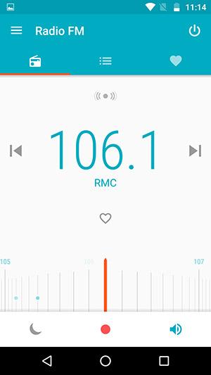 Il G4 Plus ha la radio FM, utilizzabile pure senza auricolari collegati.