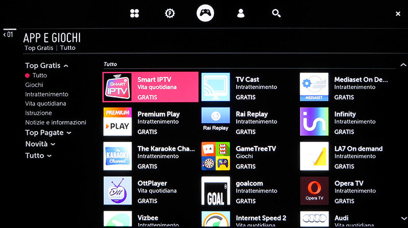 Il catalogo delle app è ben fornito, anche se non fornito come quello Android.