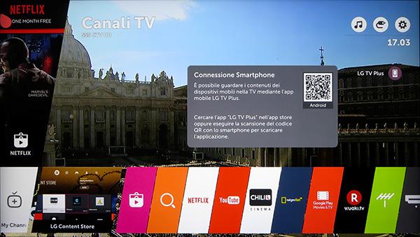 Per installare l'app sullo smartphone è sufficiente una scansione del codice QR presentato sullo schermo.