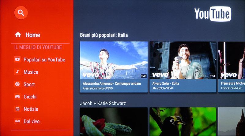 YouTube consente di accedere a video in risoluzione 4K.