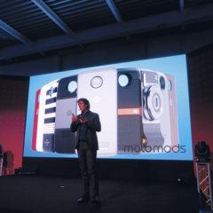 La presentazione Motorola a Milano