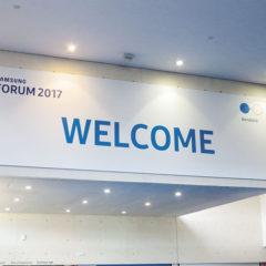 Samsung European Forum 2017 Barcellona (Spagna)
