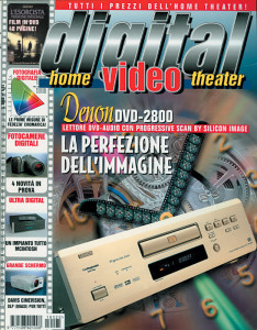 Copertina Digital Video 25