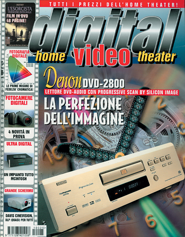Copertina Digital Video 25