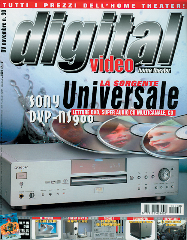Copertina Digital Video 30