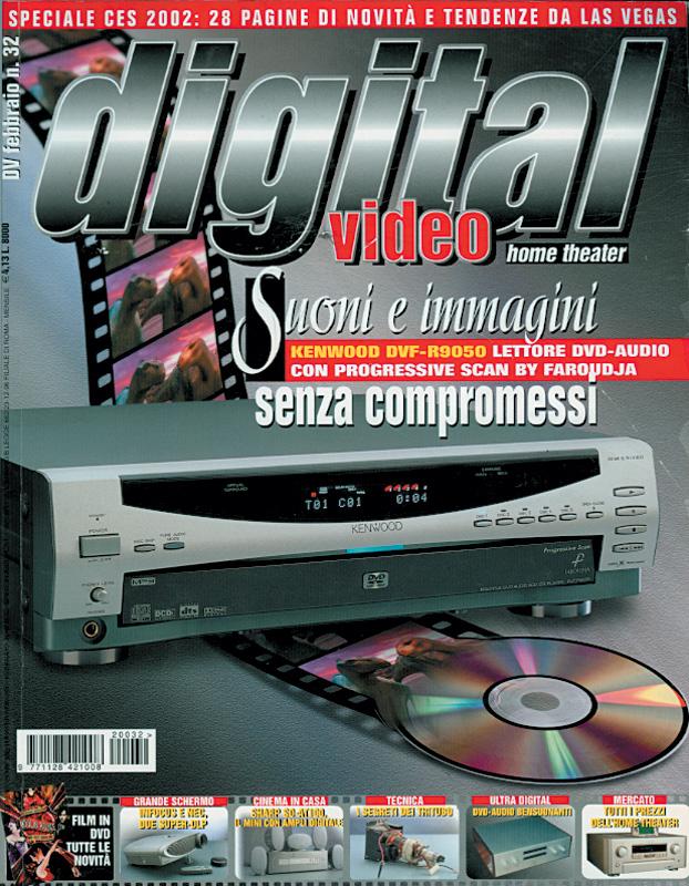 Copertina Digital Video 32