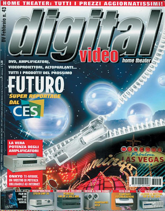 Copertina Digital Video 43