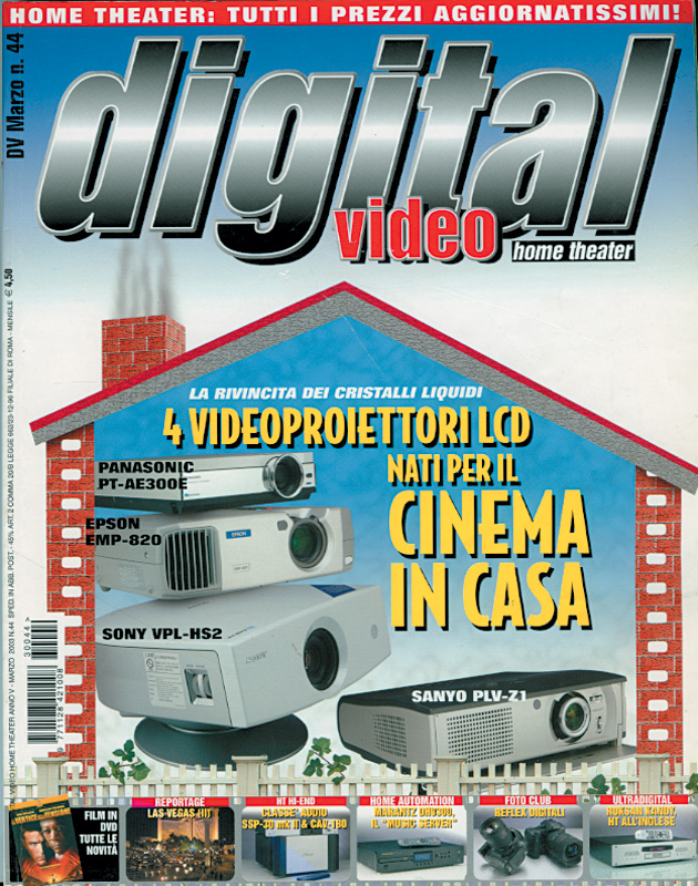 Copertina Digital Video 44