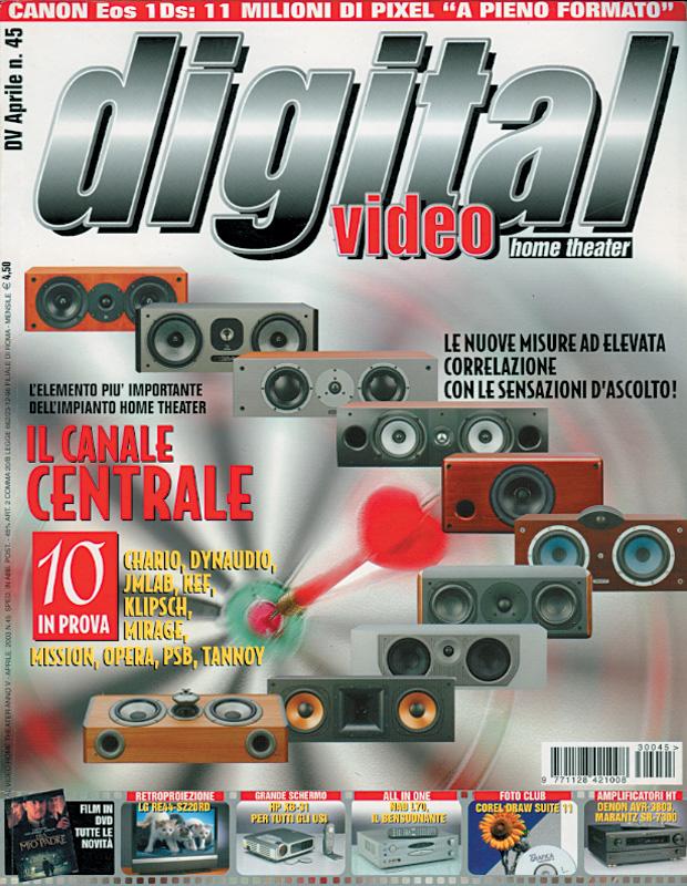 Copertina Digital Video 45