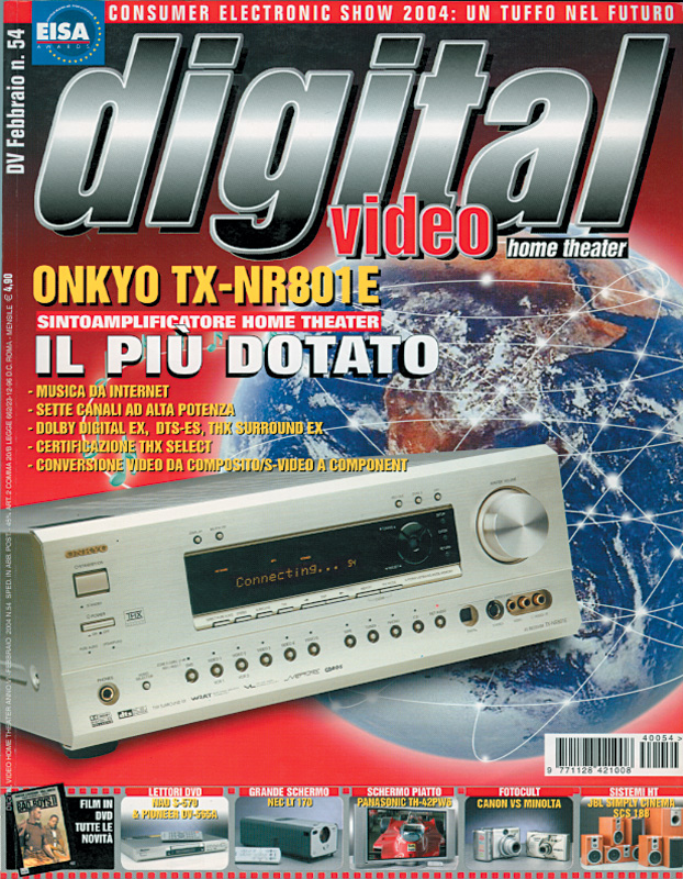 Copertina Digital Video 54