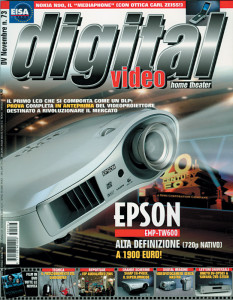 Copertina Digital Video 73