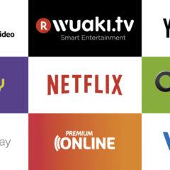 I servizi di streaming UHD