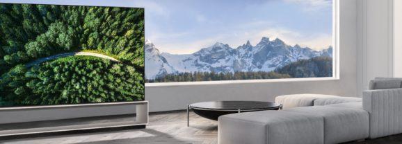 LG annuncia i prezzi dei nuovi TV 8K